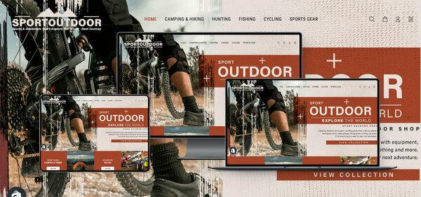 SportOutdoorShop.com - PREMIUM SHOPIFY SPORT OUTDOOR SUPPLIES DROPSHIP. Fully Automated. Profitable. No Programming Skills Needed, No Stock Needed, High Profit Margin