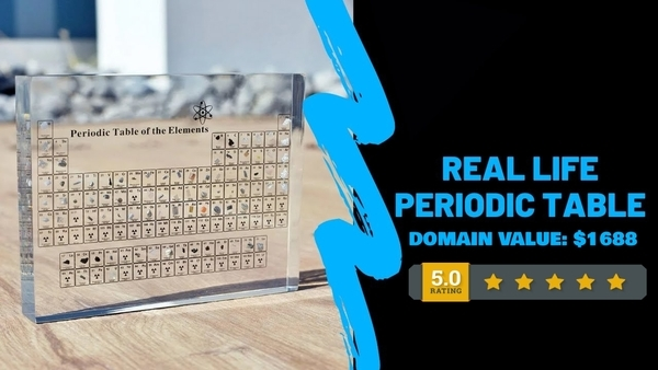 AtomiumUSA.com - Premium Periodic Table Dropshipping Store, Earn Up To $5k/Month Domain: $1688