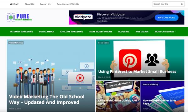 pure-internetmarketing.com - Premium 100% done for you Internet Marketing Information website