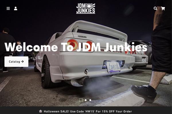 jdmjunkiesstore.com - e-Commerce / Automotive