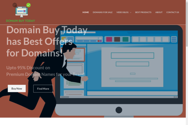 domainbuytoday.com - CLOSING DEAL $20 All Domains: DomainBuyToday.com (531 posts) Earns $499 monthly.