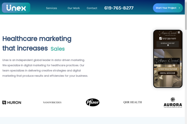 unexmarketing.com - A Digital Marketing agency where you could provide or outsource services