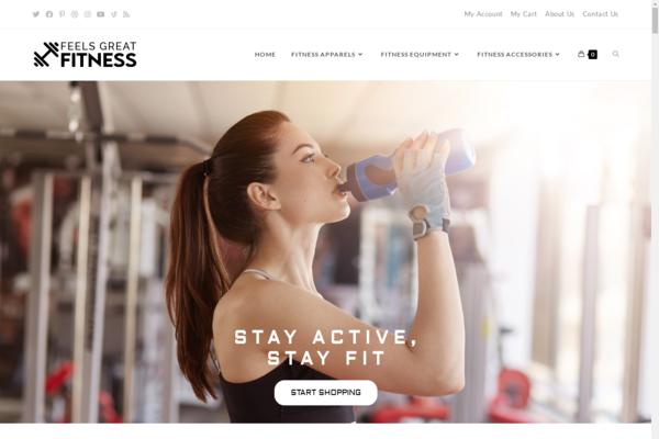FeelsGreatFitness.com - Premium FITNESS Store, Easy to Operate, 100% DROPSHIP from USA - HUGE BIN BONUS