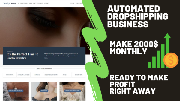 jewelrylasting.com - Starter Site for sale in the Beauty industry