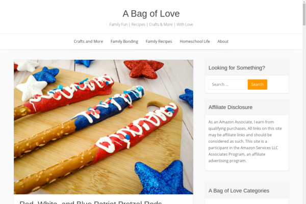 abagoflove.com - A Family Fun Recipe and Homeschool Science Blog for YOU