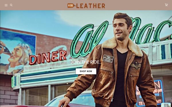 LeatherEco.com - LeatherEco.com - Premium Leather Jacket & Accessories Store| Domain Worth $1,416