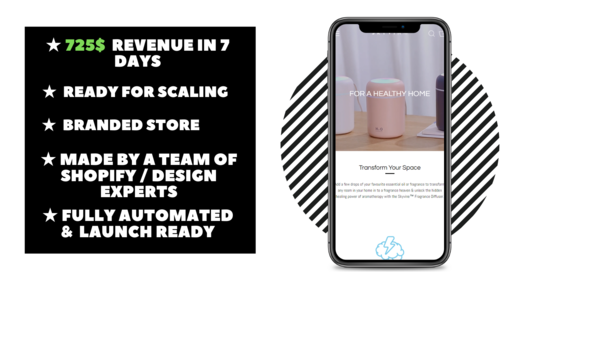 skyvine - Branded Ecommerce Store With Clean & Modern Design Made By Professional Webdesign team. $948 Revenue Generated In 7 Days. Everything Is Automated.
