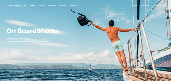 onboardshorts.com - Onboardshorts.com Dropshipping Store with Exceptional Growth Potential