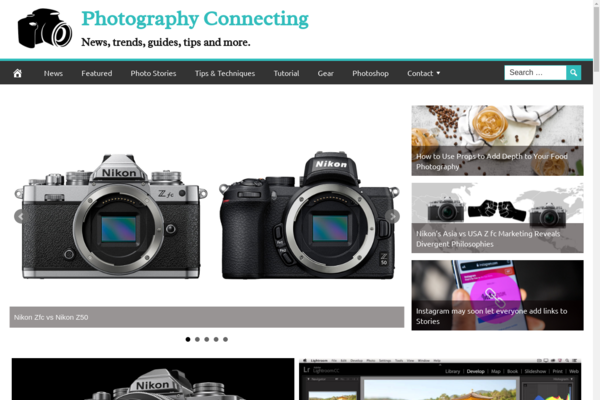 PhotographyConnecting.com - 100% Automated Photography Guides &Tricks- 1 Year Free Hosting + Great Bonuses