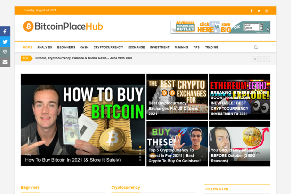 BitcoinPlaceHub.com - Fully Automated Bitcoin Website - Top Profitable Business, No Experience Needed