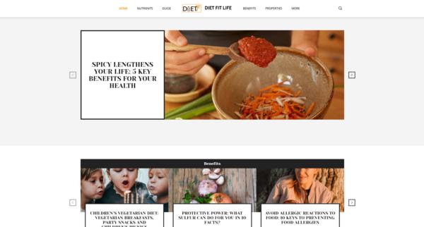 DietFitLife.com - DietFitLife.com: Diet, Life, Nutrition, Food, Health