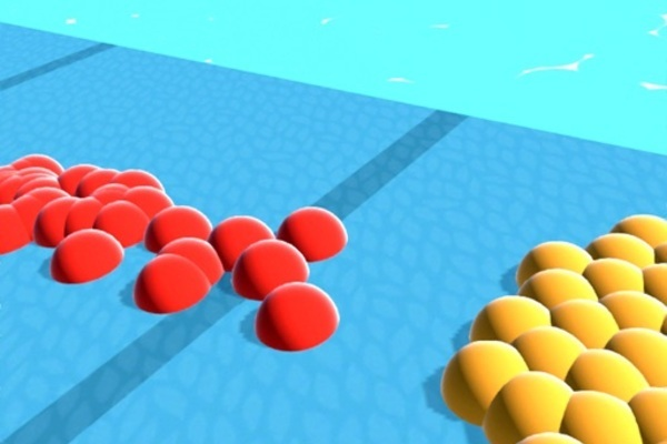 Slime Crowd - Count Battle 3D - Brand New Hyper Casual iOS Game