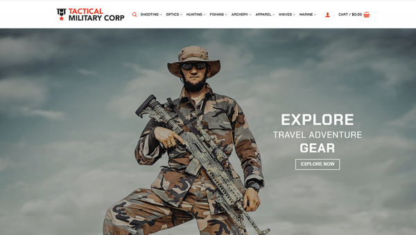 TacticalMilitaryCorp - TACTICALMILITARYCORP.COM Professional Hunting/Camping store 4,000+ USA Supplier