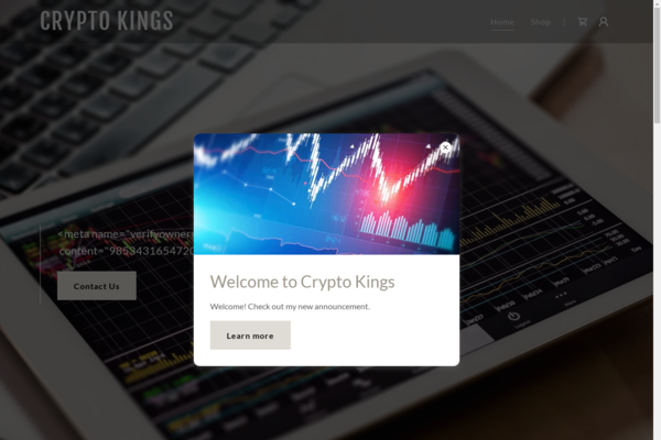cryptoking.uk - Crypt Financial services