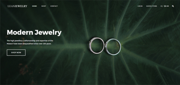 leanjewelry.com - Leanjewelry.com Wall Art Dropshipping Store with Exceptional Growth Potential