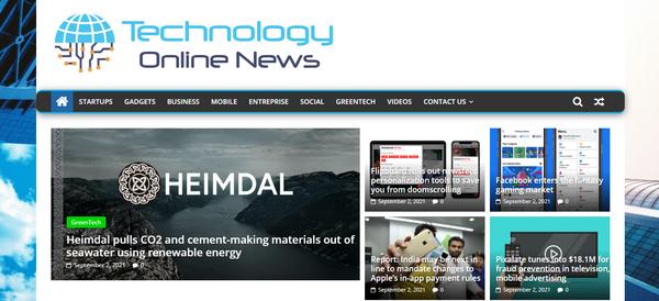 TechnologyOnlineNews.com - Technology News, Premium design, 100% Automated, 1 Year FREE Hosting BIN + Bonus