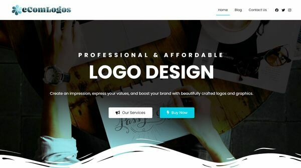 eComLogos.com - Outsourced logo business. Premium aged domain worth $1,115. Newbie friendly.