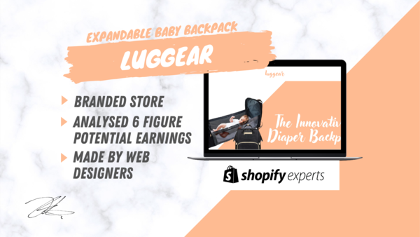 Luggear™ - Start Your Online Business Today With Our Branded & Automated One Product Store Made By A Team Of Dropshippers & Web designers.