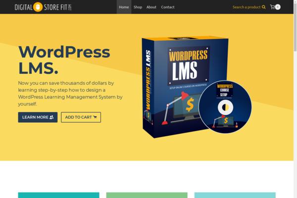 DigitalStoreFit.com - 25+ Hot Selling WordPress Digital Store | Cart & Checkout Like Shopify