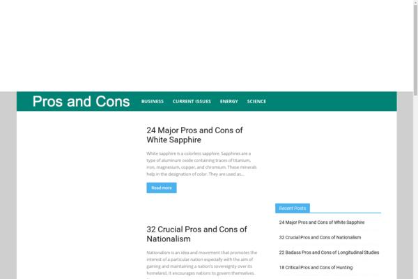 prosdecons.com - Quick Sale Educational Blog