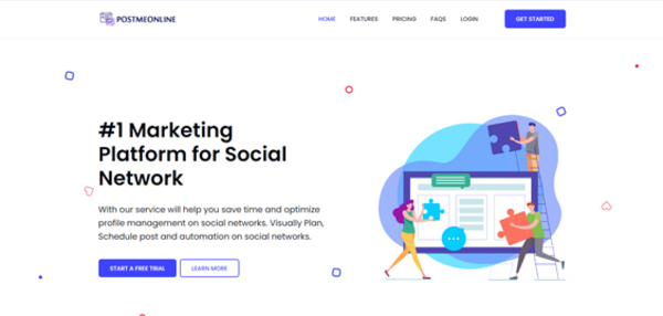 postmeonline.com - #1 Marketing Platform For Social Network All In One Brand Building Tools