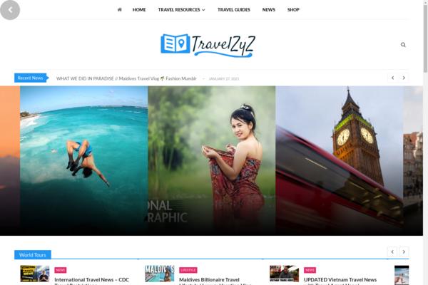 travelzyz.com - Huge Income Guarantee - Afiliate Video Travel Autoblog 100% on autopilot
