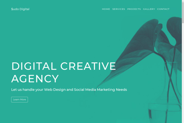 Sudo DIgital - Get your own digital agency that includes a professionally developed website, experienced supplier team, eye-catching marketing materials and comprehensive post