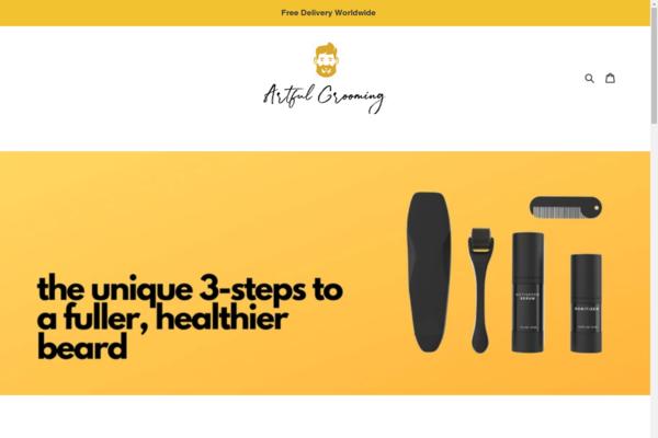 artfulgrooming.com - $8k in revenue per month, 75% profit margin, organic following being created...
