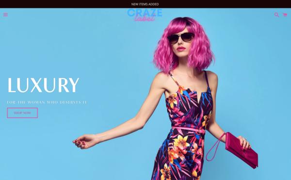 CrazeLabel.com - CrazeLabel.com - Ready to Go Women's Fashion Brand | Domain Worth $1,297