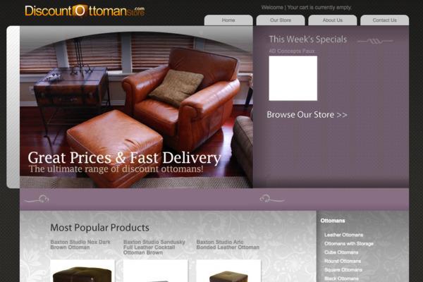 DiscountOttomanStore.com - Established store has made FIVE FIGURES in cash flow since launch