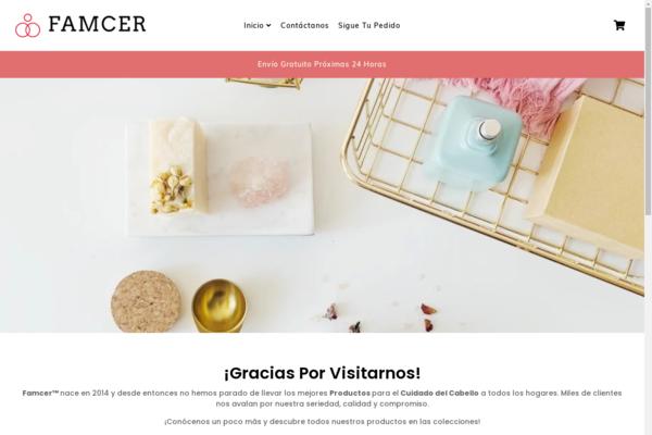 famcer.com - e-Commerce / Health and Beauty