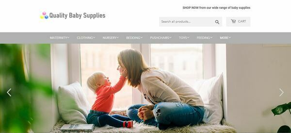 QualityBabySupplies.com - Shopify Dropship Baby Store with Domain Worth $957