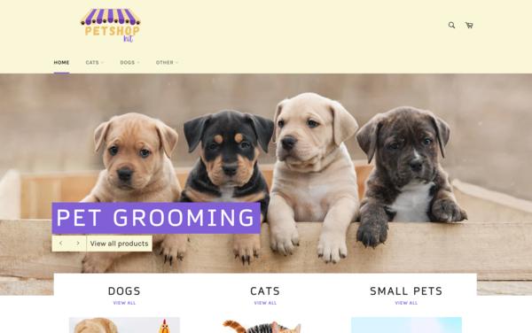 PetshopKit.com - PetshopKit.com - Dropshipping Pet Store   Premium Brandable Name Worth $1,119
