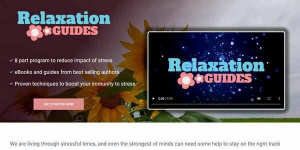 RelaxationGuides.com - Stress eBook and Resources Bundle Store, Digital Product, Wordpress/WooCommerce