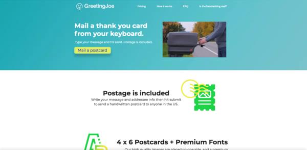 GreetingJoe.com - 100% Automated | Greeting Cards SaaS Website | Passive Income Ecommerce