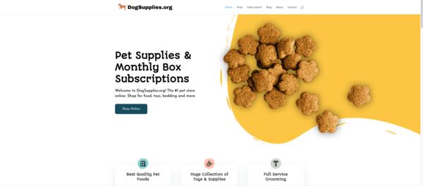DogSupplies.org - DogSupplies.org | 19 year Old Domain | Estibot $11,000 | Modern Wordpress Site | 2 Million Backlinks