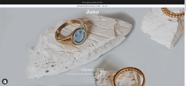 joyasjuno.com - Jewelry eCommerce Shopify | Trendy and minimalist jewels