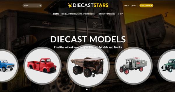 Diecaststars.com - DIECASTSTARS.COM - Professional Diecast store READY-TO-GO! 5K+ Inventory