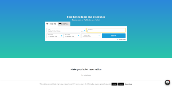 eTicketsBooking.com - Flights & Hotel Booking Affiliate Website - This is a WordPress based Flight, Hotel & Tour Booking Website, Earn From Booking Affiliate Commission, Amazon Affiliate, AdSense, Advertise With Us Feature,etc