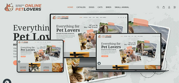 onlinepetlovers.com - PREMIUM SHOPIFY PET SUPPLIES DROPSHIP. Fully Automated. Profitable