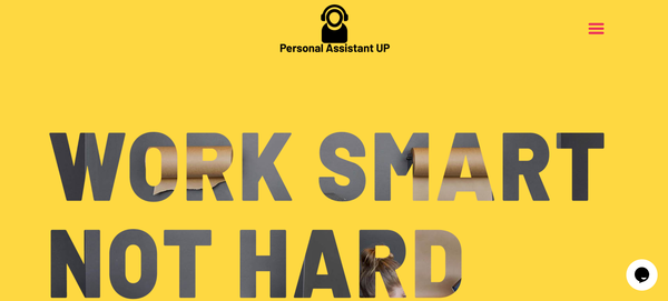 PersonalAssistantUp.com - Virtual Assistant Agency Reseller Site Fully Outsourced Big Income Potential