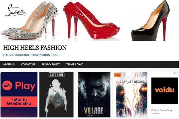 highheelsfashion.info - Advertising / Design and Style