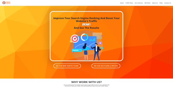 TrafficForSites.com - SEO & Web Traffic Business, Newbie Friendly, Fully Outsourced, Net Profit - $1016 per/month, BIN Bonus - Buy It Now And Get 2 Free Sites, US Business Database