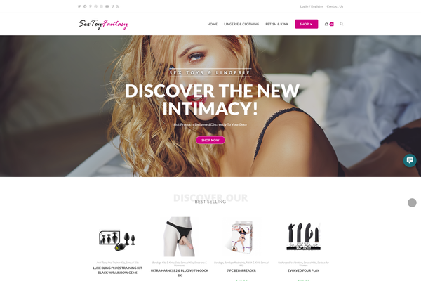 SexToyFantasy.com - Sex Toys $ Lingerie Store - Short Domain - US Supplier - Unlimited Potential