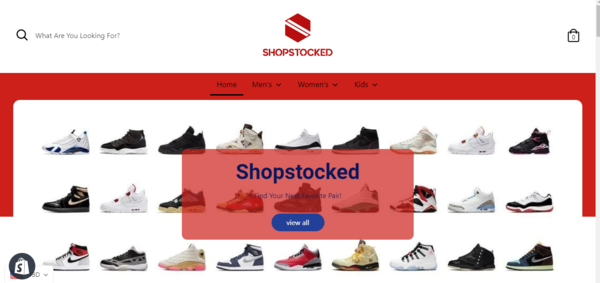 shopstocked.com - e-Commerce / Design and Style