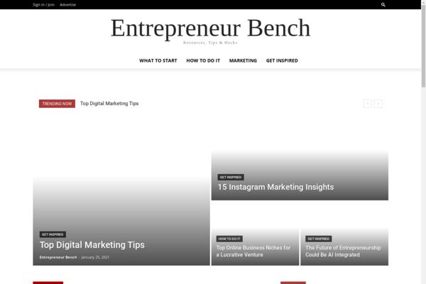 entrepreneurbench.com - Entrepreneurbench.com - Resources, Tips & Hacks Blog