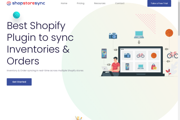 shopstoresync.net - Inventory & Order syncing in real-time across multiple Shopify stores