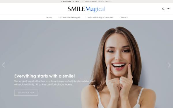 SmileMagical.com - SmileMagical.com - Teeth Whitening Kit Store| Premium Domain Name worth $1,143