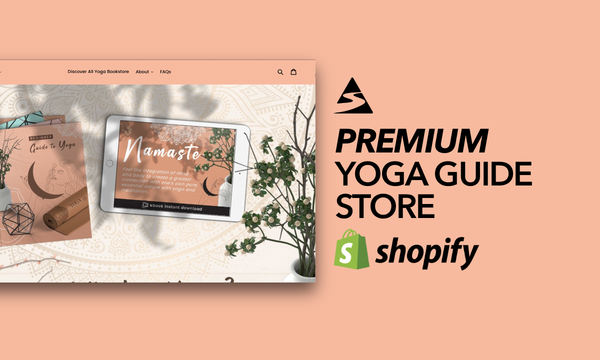 MyYogaGuidebook.com - Shopify Starter Store For Sale Specialising in the Yoga & Meditation Niche