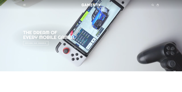 gamenty.com - Mobile Game Controller | Branded Automated Shopify One Product Store